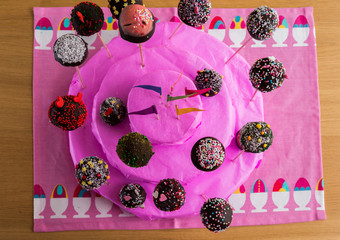A Handmade Cake of Cake-Pop
