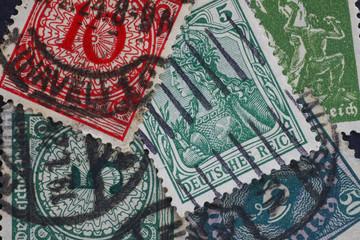 Alte Briefmarke_Sammlung