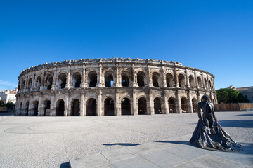 Roman Amphitheater in Nimes, France