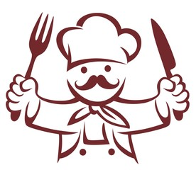 CHEF VECTOR BRUSH
