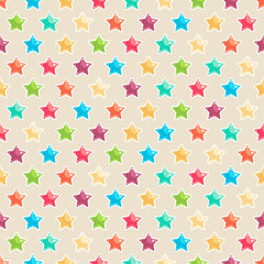 cute colored stars