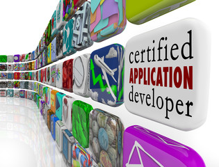 Certified Application Developer Apps Programming Software Develo