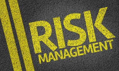 Risk Management written on the road