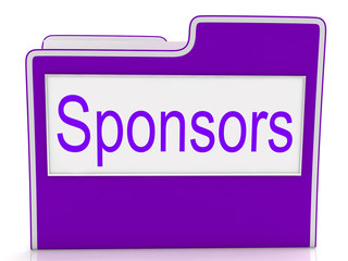 File Sponsors Represents Paperwork Promoter And Patrons