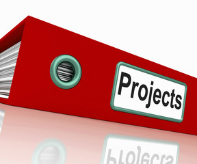 Projects File Shows Venture Administration And Organize