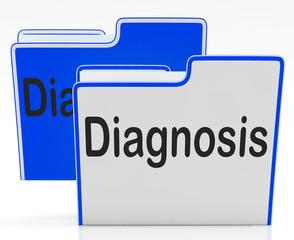Files Diagnosis Indicates Health Sick And Binder