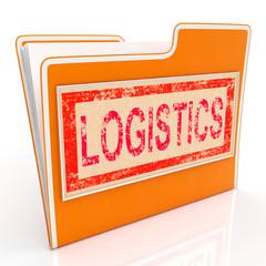 File Logistics Indicates Plan Organize And Document