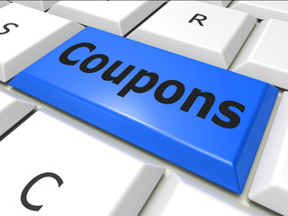 Coupons Online Represents World Wide Web And Couponing