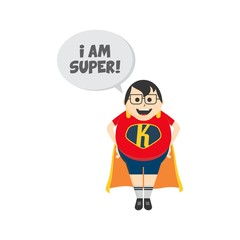 hero cartoon character