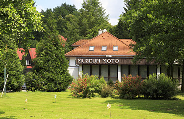 Java motorcycle museum in the Czech Republic.