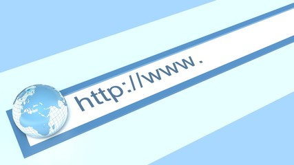 Internet address of the site
