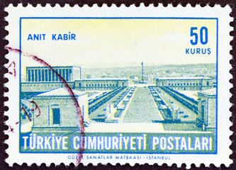 Ataturk's Mausoleum (Turkey 1963)