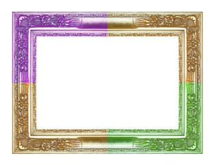 Three color frame