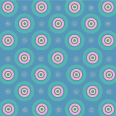 vector circle colorful on blue background