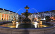 Fountain at Rossio square, Lisbon - 67074949