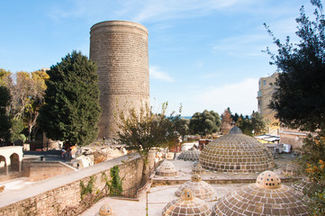 The Maiden Tower, Baku, Azerbaijan.