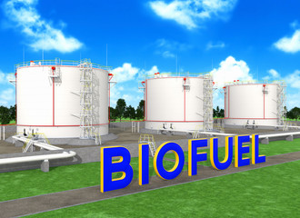 Fuel storage tanks for biofuel
