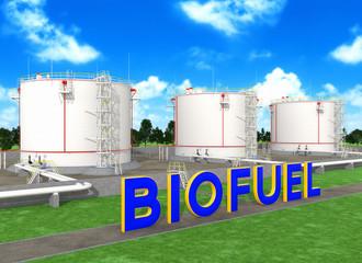 Fuel storage tanks for biofuel