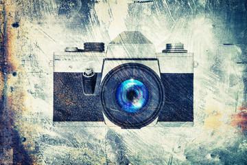 grunge camera
