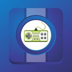 gaming theme icon button