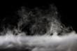 canvas print picture - ドライアイスの煙