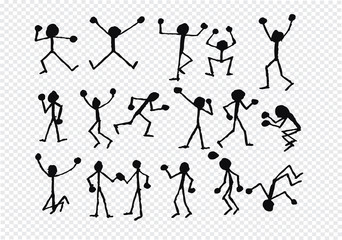 people activity  icons in illustration