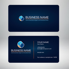 technologic logo and business card