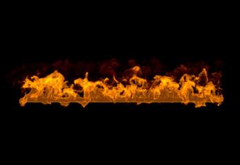 燃えるライン