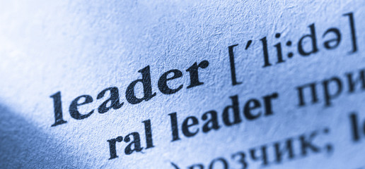Word Leader translation and definition