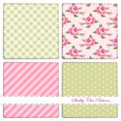 Set of shabby patterns 2