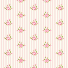 Retro rose pattern 10