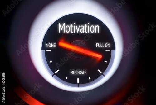canvas print picture Motivation Concept