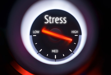High Levels of Stress Concept