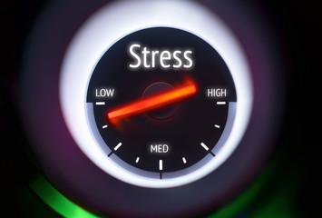 Low Levels of Stress Concept