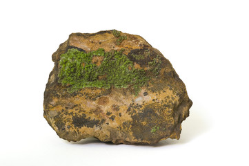 Pyromorphite from Cumberland, UK. 9cm long.