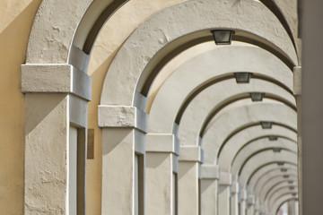 Florence Ponte Vecchio arches way