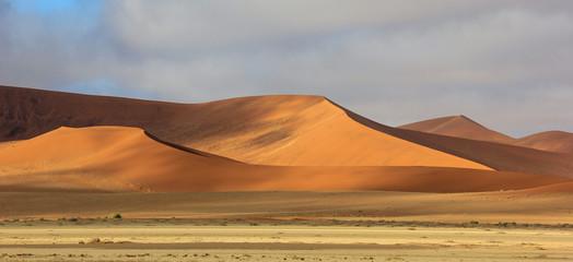 Sossusvle dunes in Namib