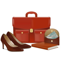 Vector Businesswoman Accessories