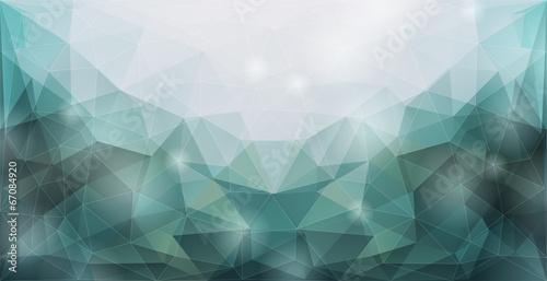 Zdjęcia na płótnie, fototapety, obrazy : Abstract polygonal background