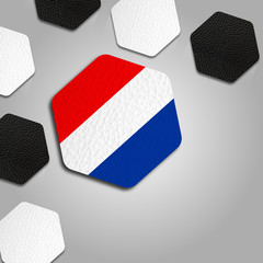 Beautiful Netherlands Ball Texture