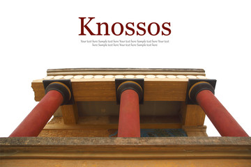 Knossos palace archaeological site Crete Greece