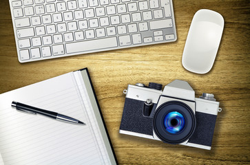 photography desk