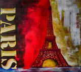 Ölgemälde Gemälde Kunstdruck artprint Kunst Paris