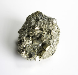 Pyrite mineral paterrn