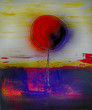 Baum abstrakt Ölgemälde Gemälde Kunstdruck artprint Kunst