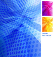 Abstract Background - Blue Purple Orange in Vector File