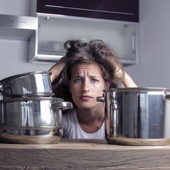 despair in the kitchen