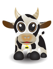 cute animal cow