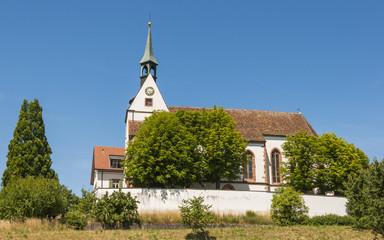 Basel, Bettingen, St. Chrischona, Aussicht, Sommer, Schweiz