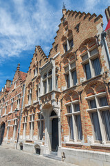 Bruges - typically brick house from Sint Annarei street.